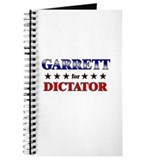 GARRETT for dictator Journal