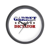 GARRET for dictator Wall Clock