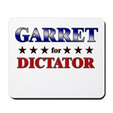 GARRET for dictator Mousepad