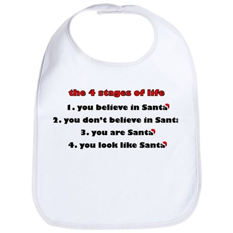 Santa Stages Bib