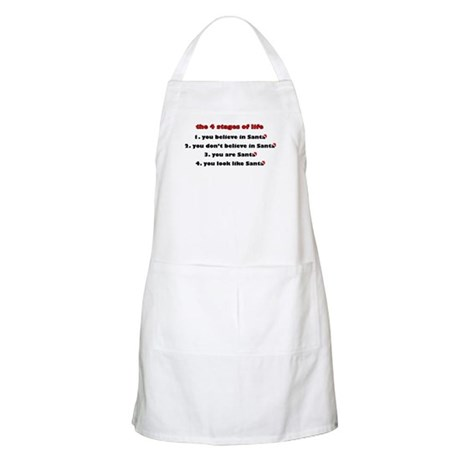 Santa Stages BBQ Apron