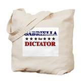 GABRIELLA for dictator Tote Bag