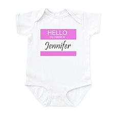 Jennifer Infant Creeper