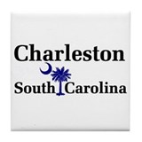Charleston South Carolina Tile Coaster