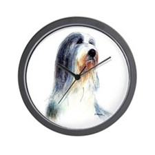 Bearded Collie #2 Wall Clock