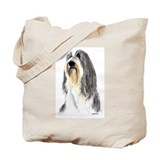 Bearded Collie #1 Tote Bag