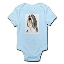 Bearded Collie #1 Infant Creeper