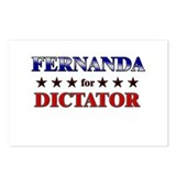 FERNANDA for dictator Postcards (Package of 8)