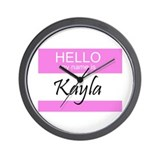 Kayla Wall Clock
