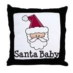 Santa Baby Christmas Throw Pillow