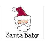 Santa Baby Christmas Small Poster