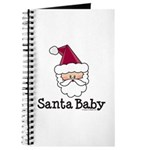 Santa Baby Christmas Journal