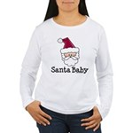 Santa Baby Christmas Women's Long Sleeve T-Shirt