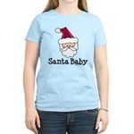 Santa Baby Christmas Women's Light T-Shirt