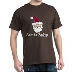 Santa Baby Christmas Dark T-Shirt