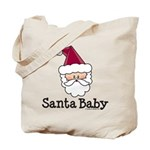 Santa Baby Christmas Tote Bag