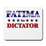 FATIMA for dictator Mousepad
