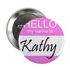 "Kathy 2.25"" Button (100 pack)"