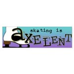 Figure Skating Bumper Sticker