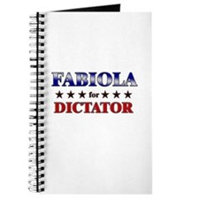 FABIOLA for dictator Journal