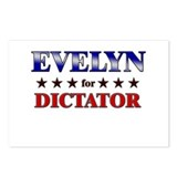EVELYN for dictator Postcards (Package of 8)