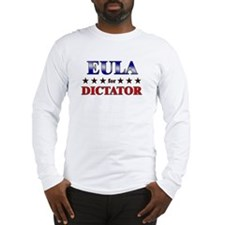 EULA for dictator Long Sleeve T-Shirt