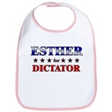 ESTHER for dictator Bib