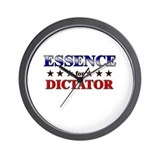 ESSENCE for dictator Wall Clock