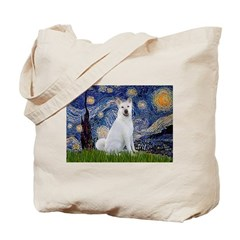 Starry Night - Akita 2 Tote Bag