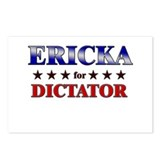 ERICKA for dictator Postcards (Package of 8)