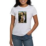 Mona / Akita (br&w) Women's T-Shirt