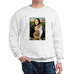 Mona / Akita (br&w) Sweatshirt