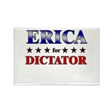 ERICA for dictator Rectangle Magnet