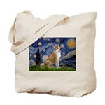 Starry - Akita3 Tote Bag