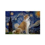 Starry - Akita3 Rectangle Magnet (10 pack)