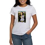 MonaLisa-AKita2 Women's T-Shirt