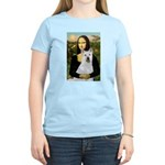 MonaLisa-AKita2 Women's Light T-Shirt
