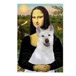 MonaLisa-AKita2 Postcards (Package of 8)
