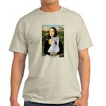 MonaLisa-AKita2 Light T-Shirt
