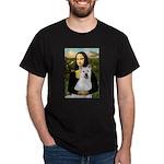 MonaLisa-AKita2 Dark T-Shirt
