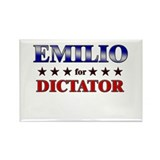 EMILIO for dictator Rectangle Magnet (10 pack)