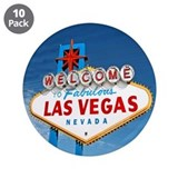 "Las Vegas Sign - 3.5"" Button (10 pack)"