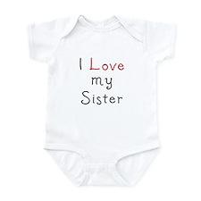 I Love my Sister - Onesie