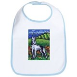 GREAT DANE Harlequin Design Bib