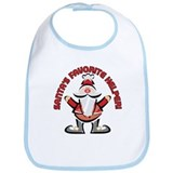 SANTA'S FAVORITE HELPER! Bib