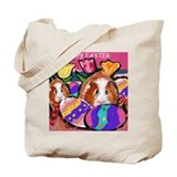 GUINEA PIG Easter Design Tote Bag