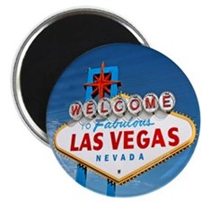 "Las Vegas Sign - 2.25"" Magnet (100 pack)"