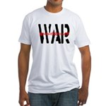 WAR Fitted T-Shirt