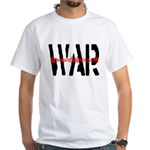 WAR White T-Shirt