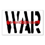 WAR Rectangle Sticker